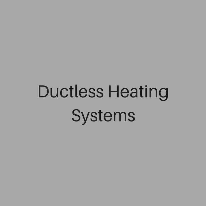 ductless heating systems