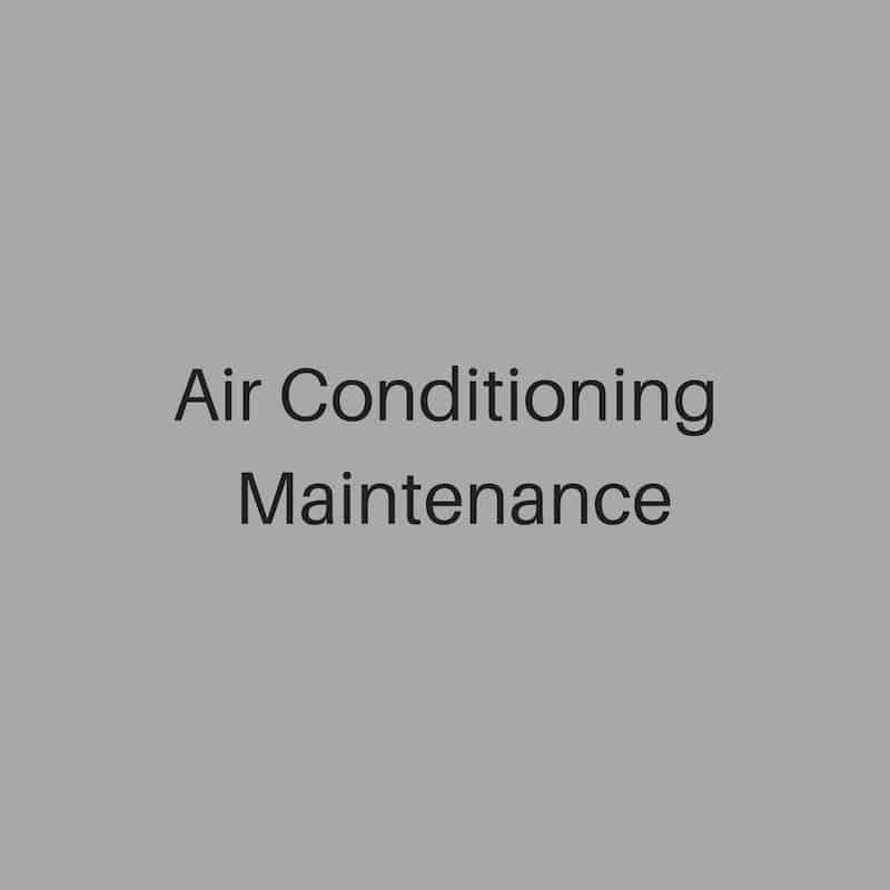ait conditioning maintenance