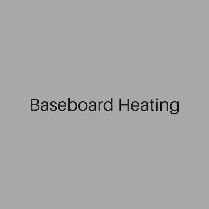 baseboard heating