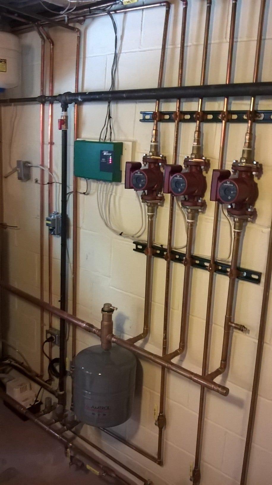boiler pipes