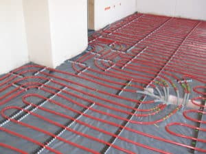 underfloor hydronic heating