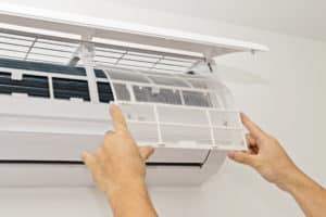 ductless heating/ac system